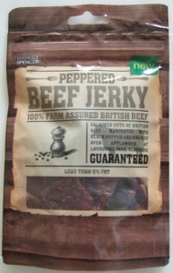 Marks & Spencer Peppered Beef Jerky