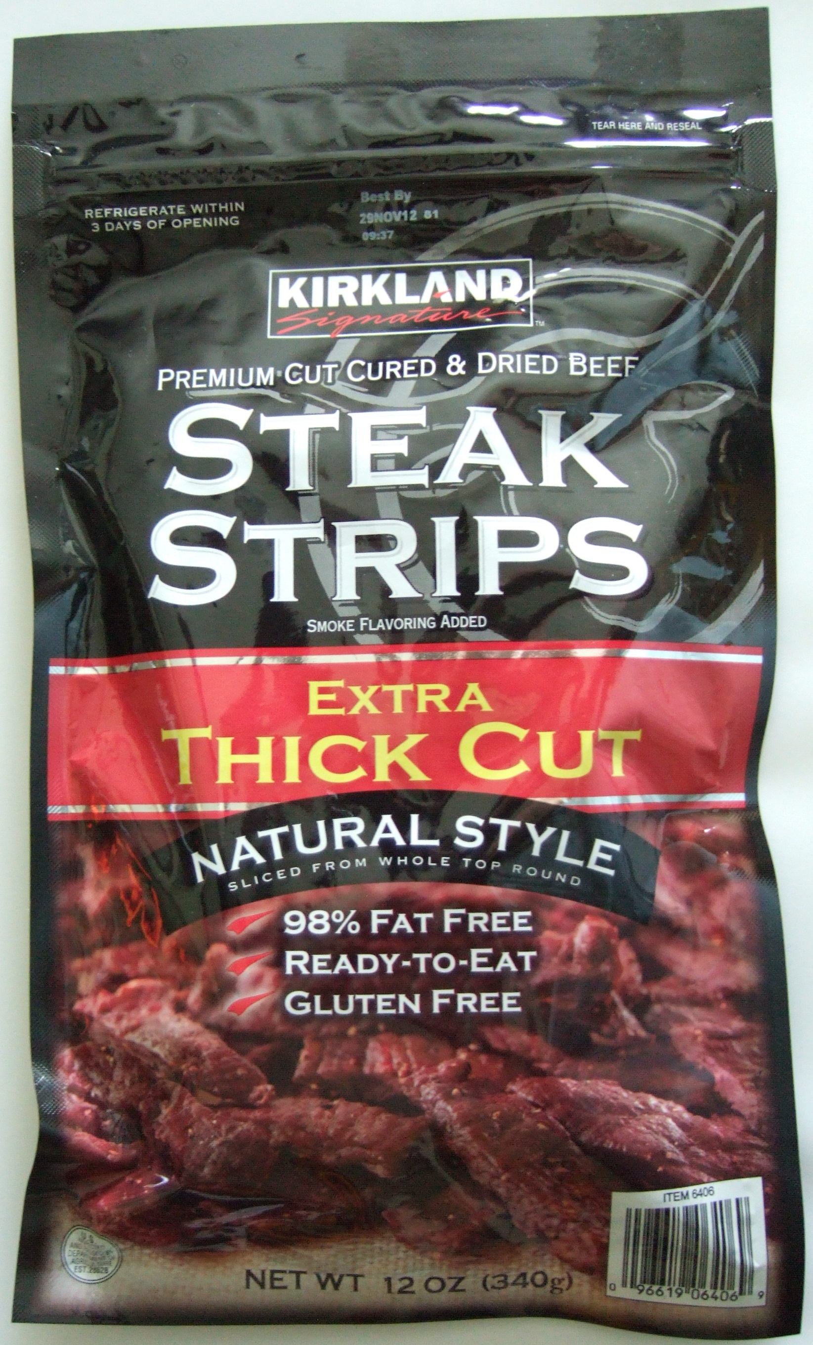 Kirkland Premium Beef Steak Strips