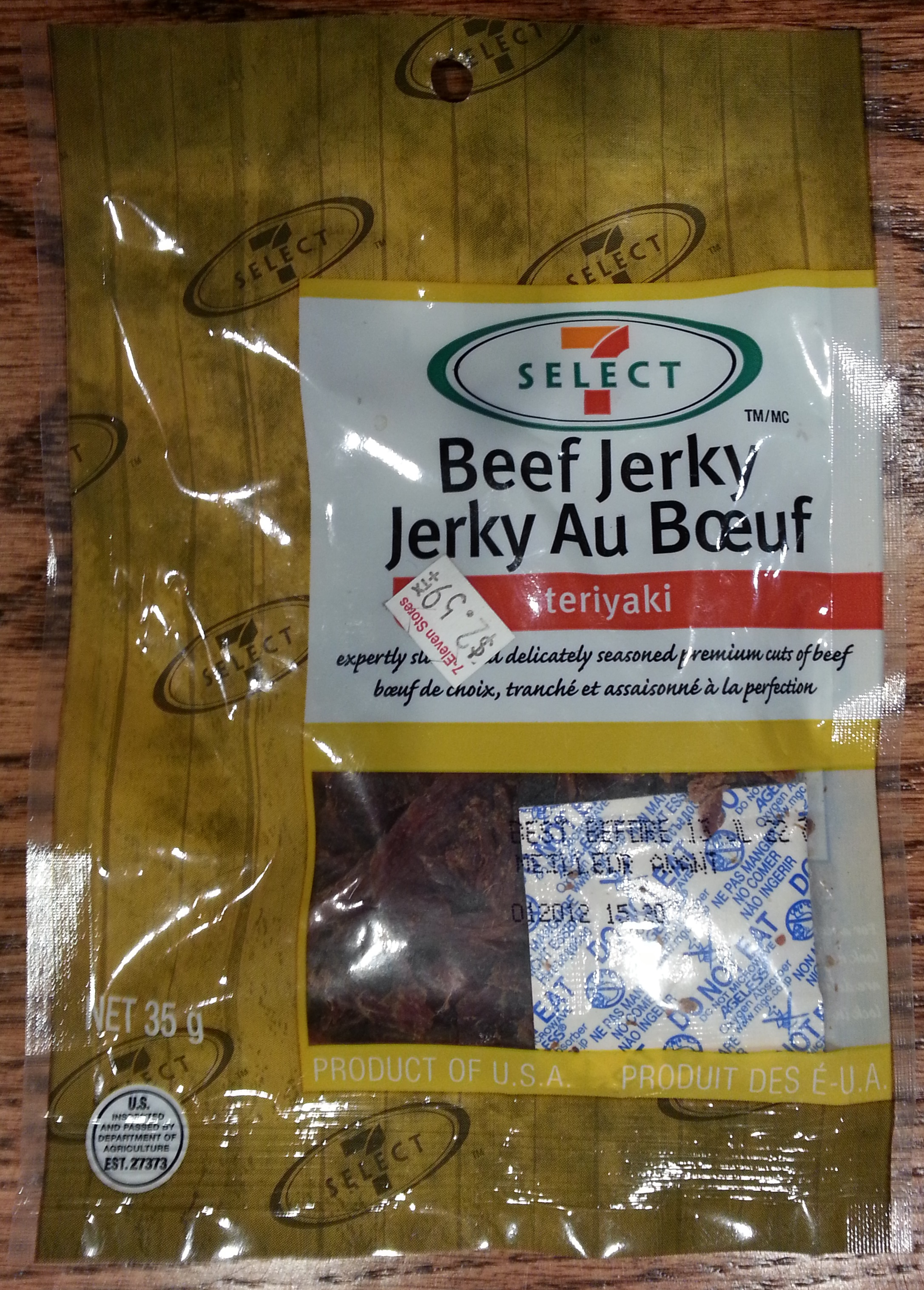 7 Select Teriyaki Beef Jerky