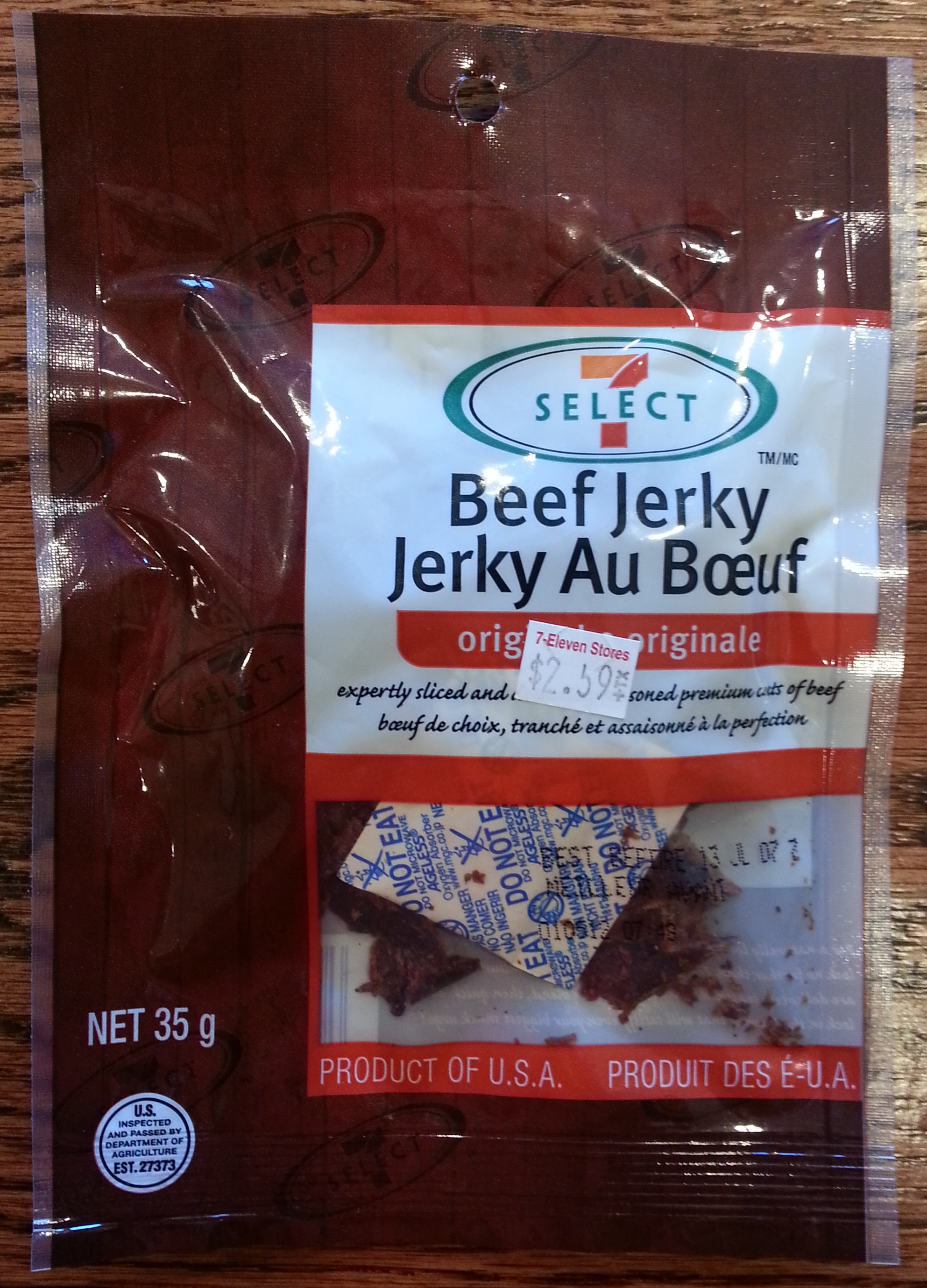 7 Select Original Beef Jerky