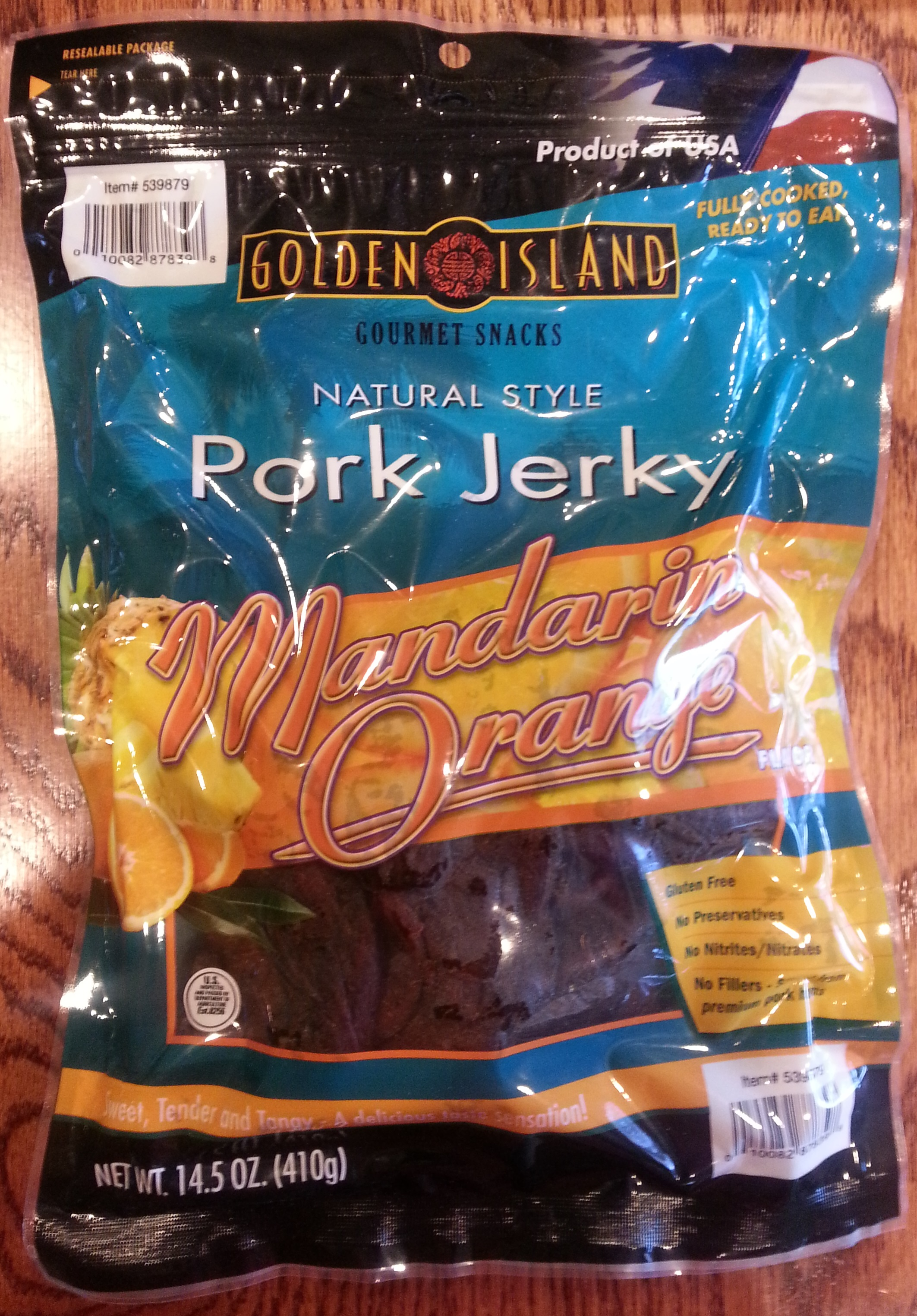 Golden Island Mandarin Orange Pork Jerky