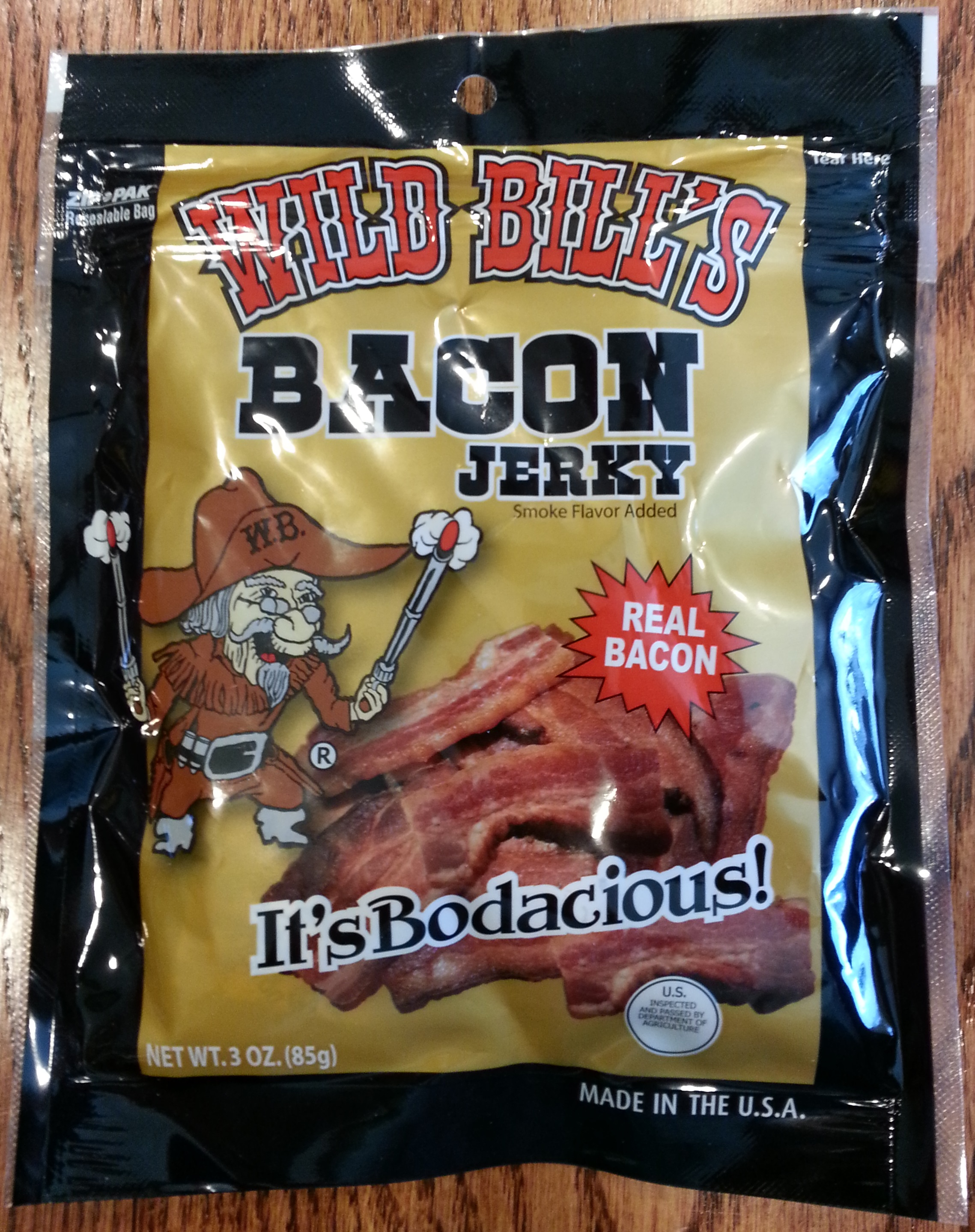 Wild Bill's Bacon Jerky