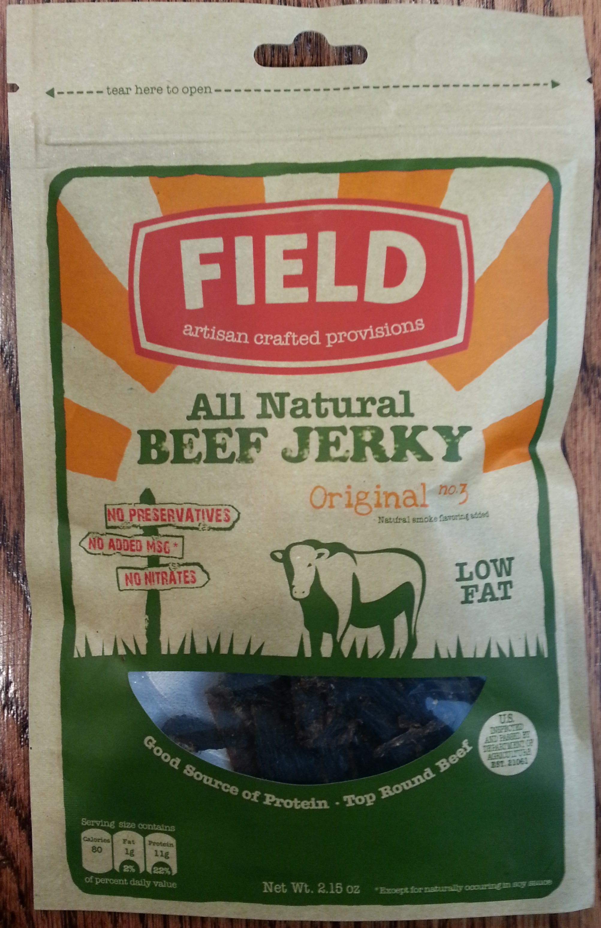 Field Trip Original No.3 Beef Jerky