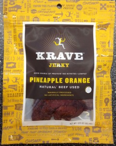 Krave Pineapple Orange Gourmet Beef Jerky
