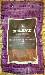 Krave Black Cherry Barbecue Pork Jerky