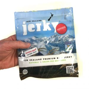 New Zealand Brand Premium Peppered Beef Jerky